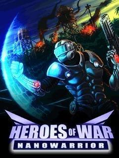 بازی موبایل Heroes of war nanowarrior